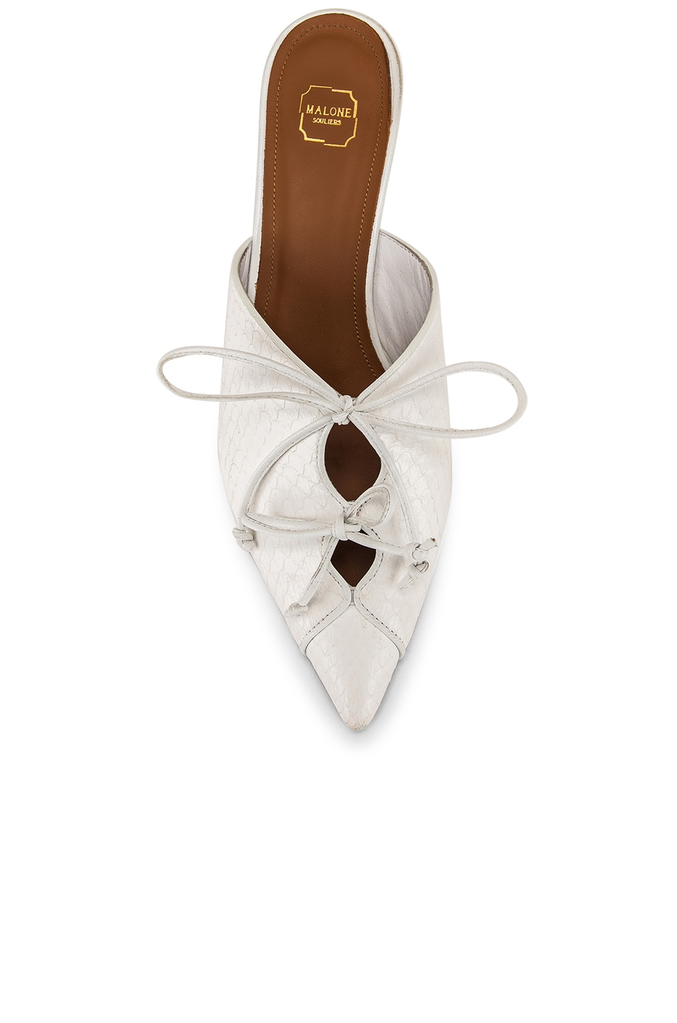 Image 4 of Malone Souliers Victoria MS 45 Heel in White