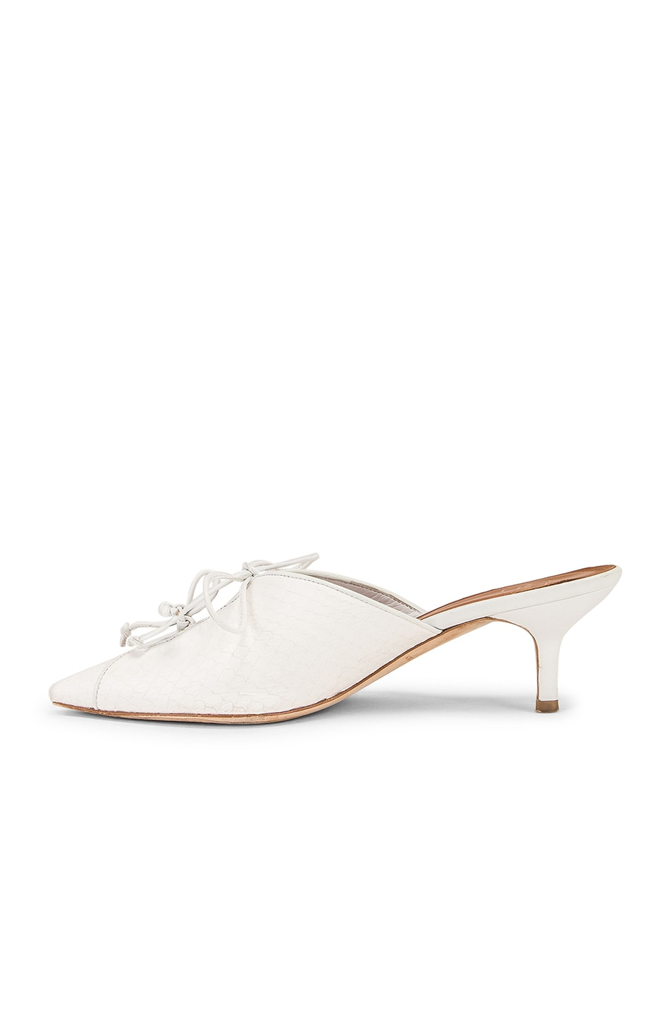Image 5 of Malone Souliers Victoria MS 45 Heel in White