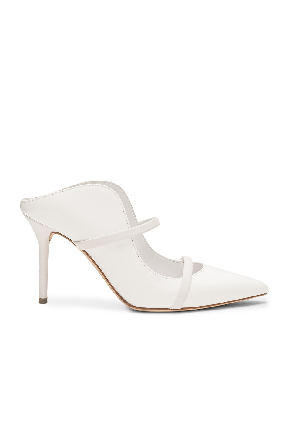 Image 1 of Malone Souliers Maureen Heel in White