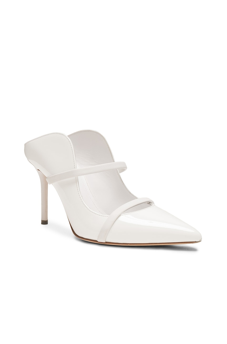 Image 2 of Malone Souliers Maureen Heel in White