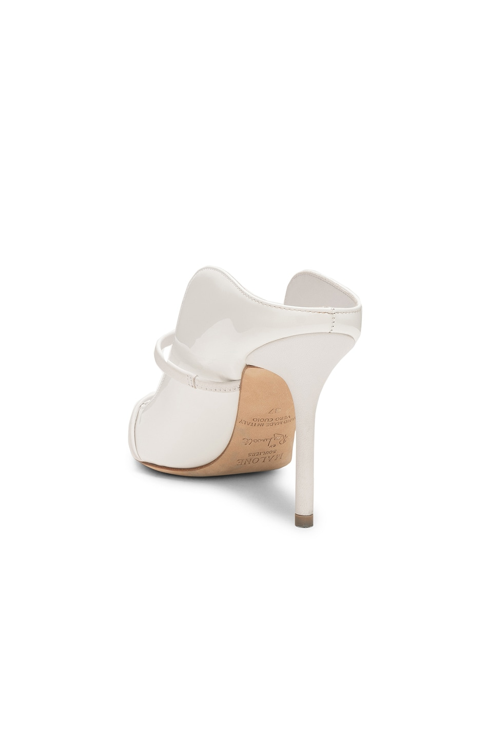 Image 3 of Malone Souliers Maureen Heel in White