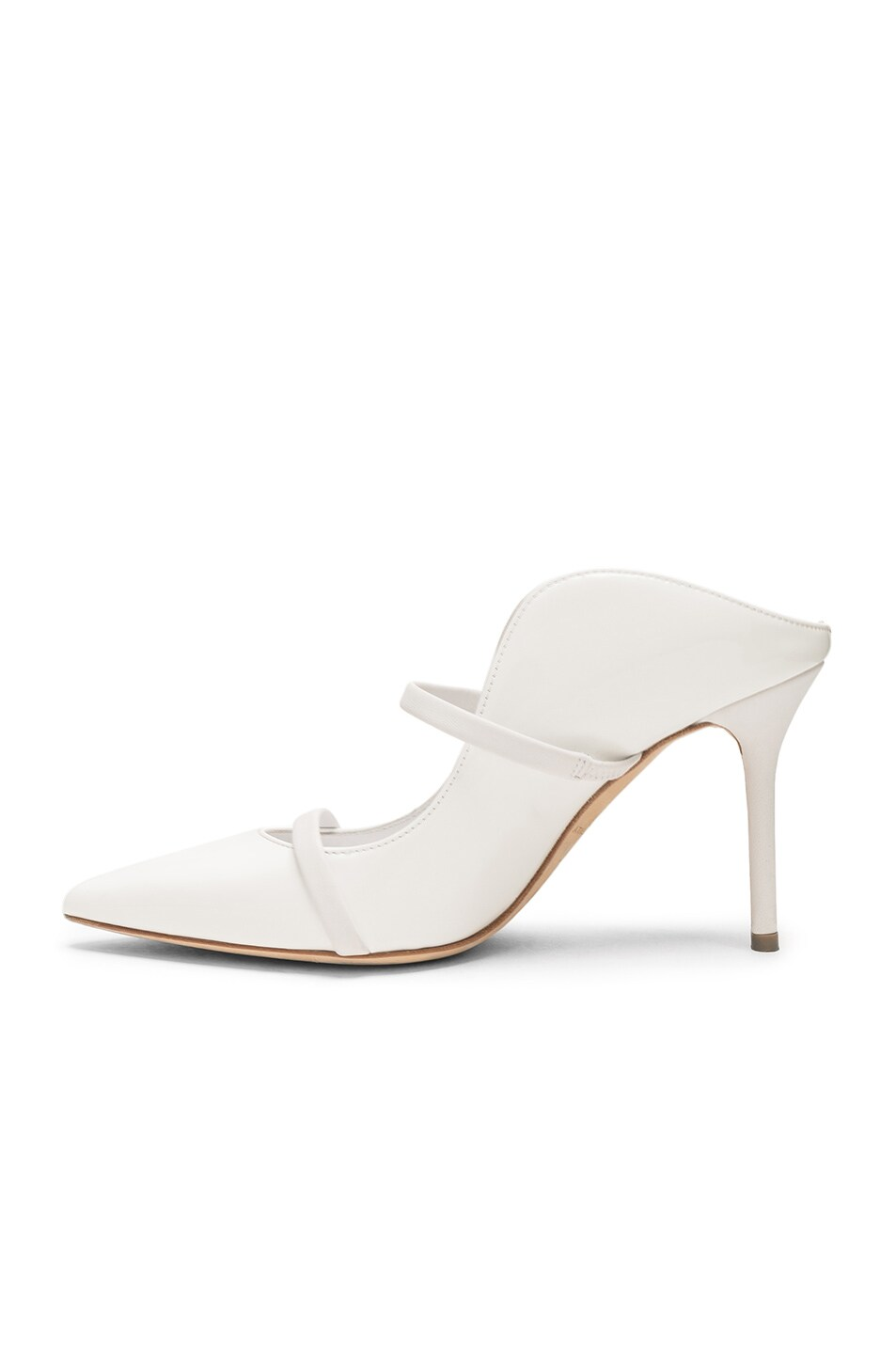 Image 5 of Malone Souliers Maureen Heel in White