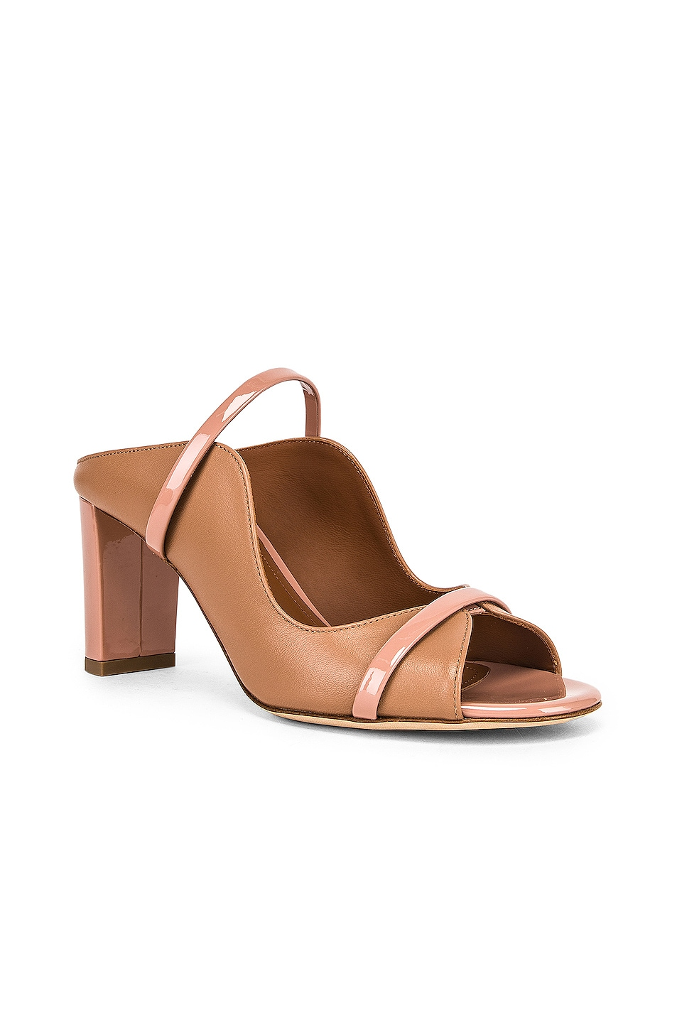 Image 2 of Malone Souliers Nora Heel in Nude & Blush