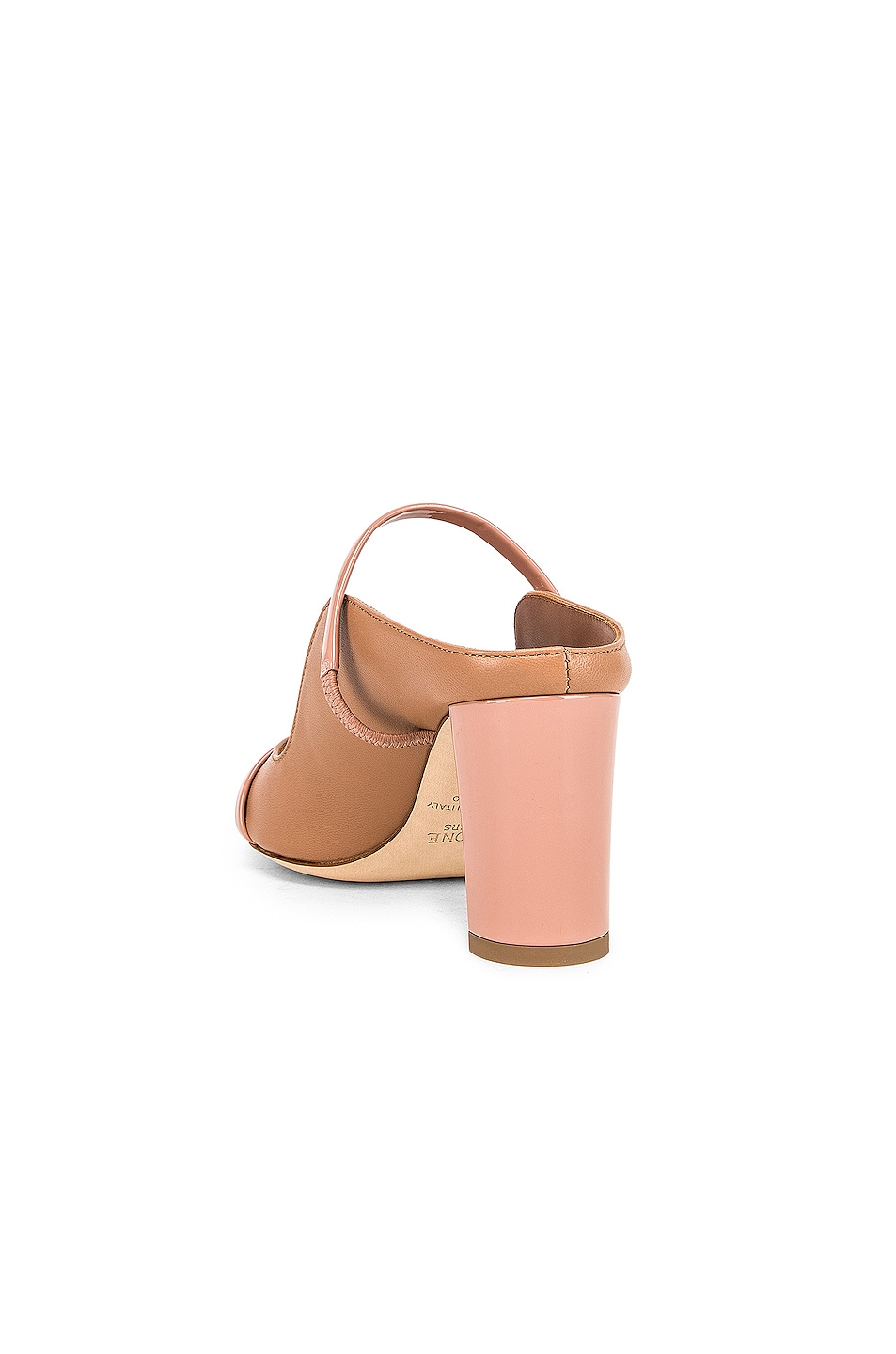 Image 3 of Malone Souliers Nora Heel in Nude & Blush