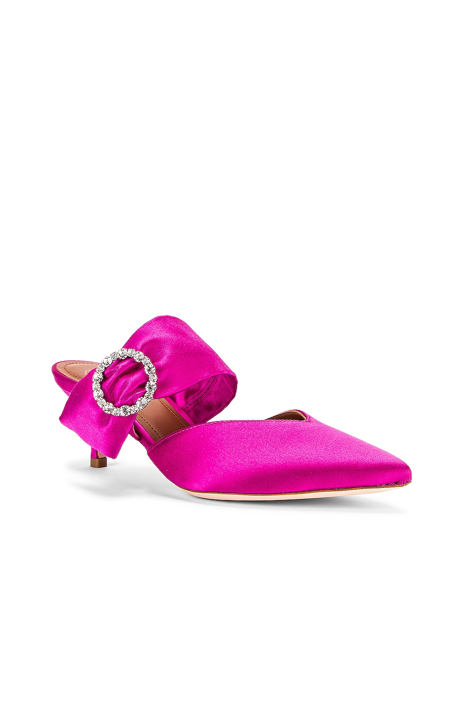 Image 2 of Malone Souliers Maite Crystal MS 45 Slide in Heather
