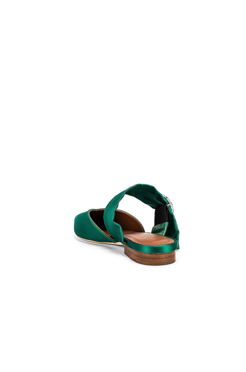 Image 3 of Malone Souliers Maite Crystal MS Flat in Emerald