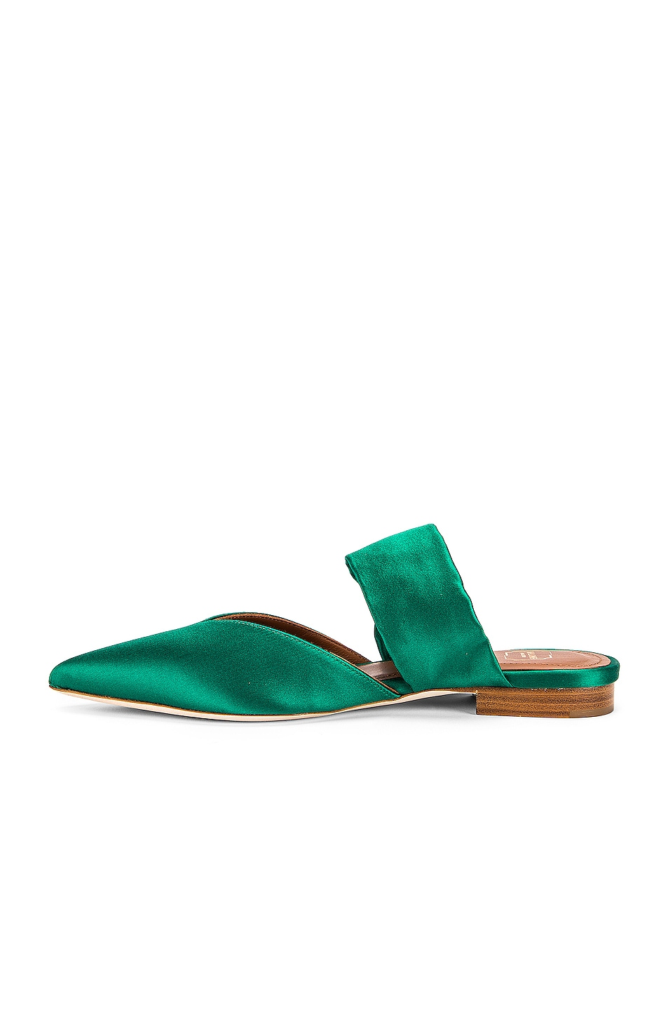 Image 5 of Malone Souliers Maite Crystal MS Flat in Emerald