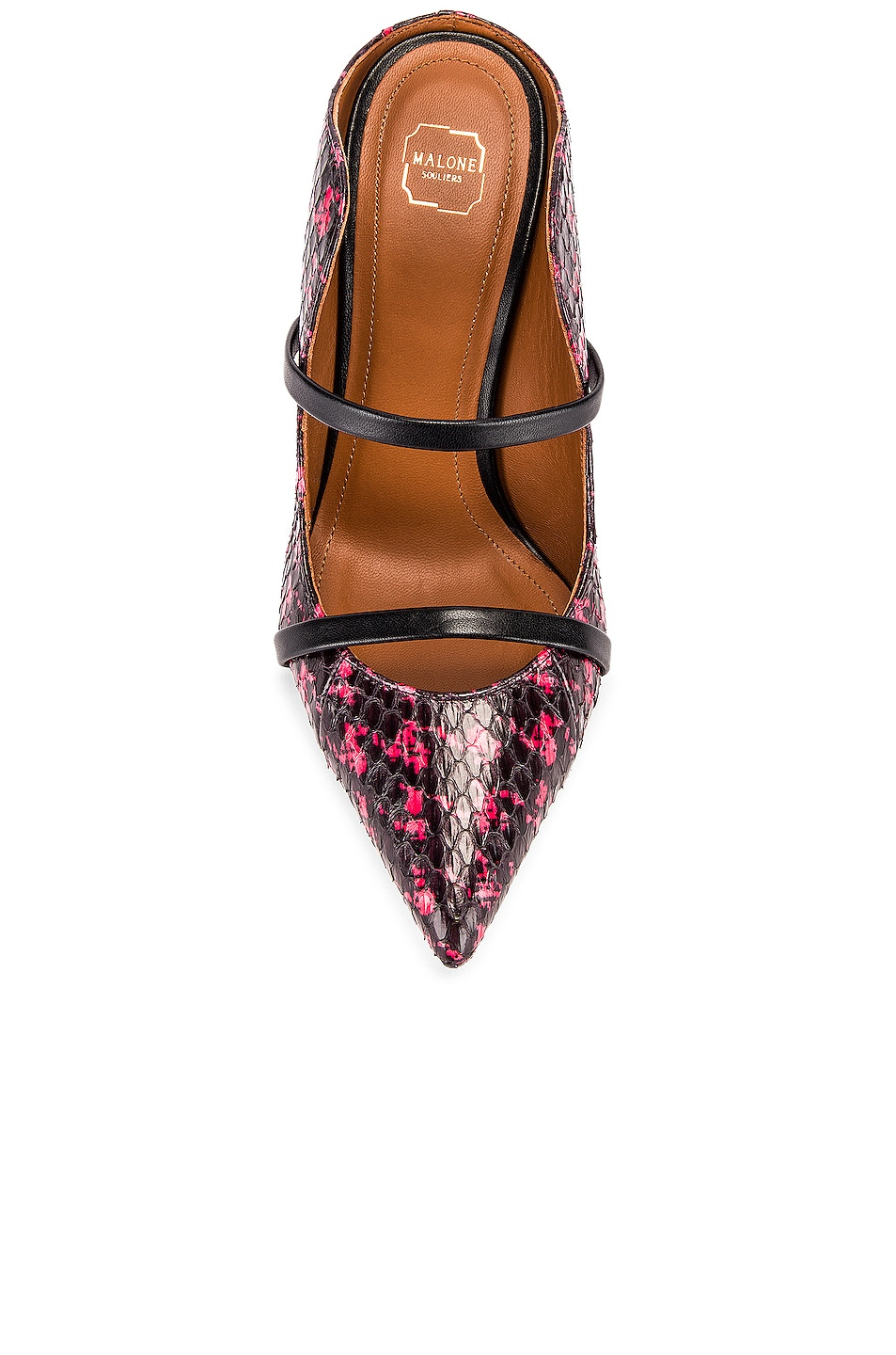 Image 4 of Malone Souliers Maureen MS 85 Pump in Red & Black