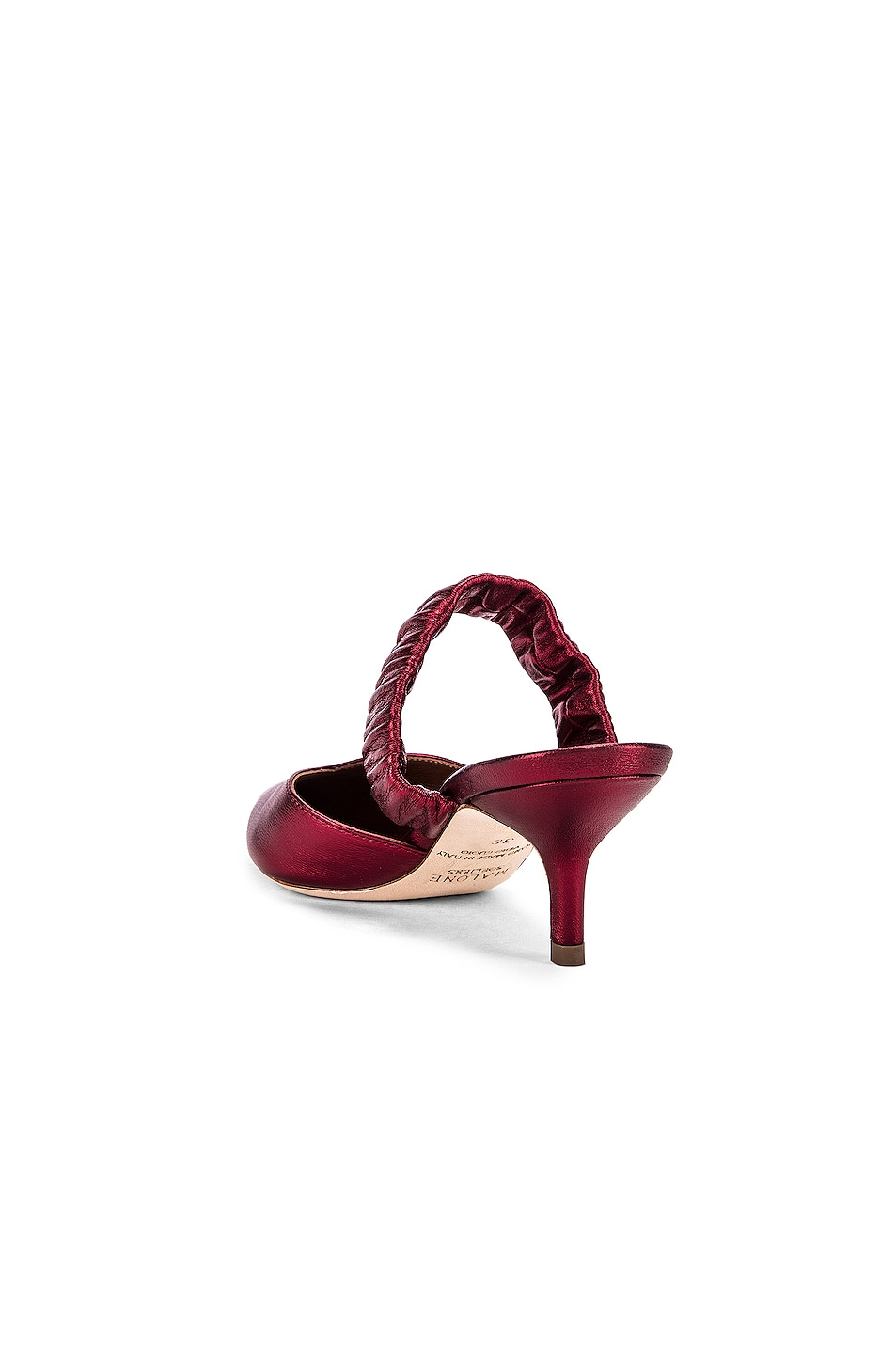 Image 3 of Malone Souliers Matilda 45 Heel in Red