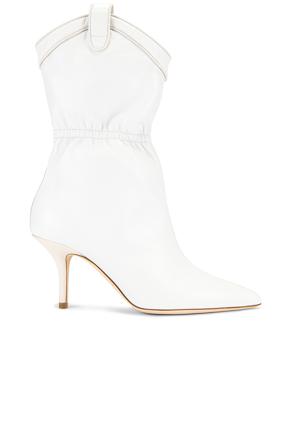 Image 1 of Malone Souliers Daisy MS 70 Boot in White & Cream