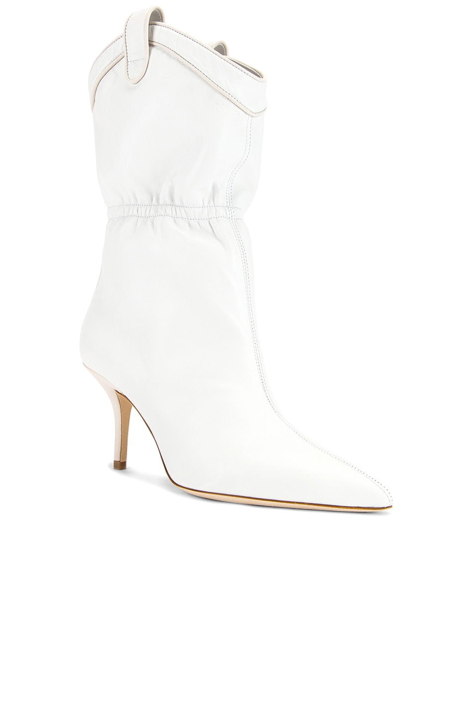 Image 2 of Malone Souliers Daisy MS 70 Boot in White & Cream