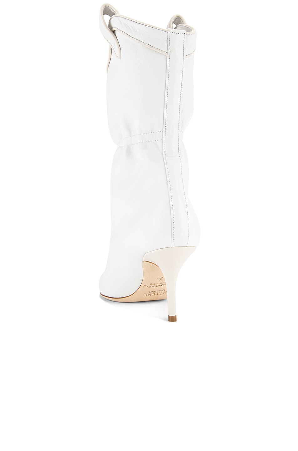 Image 3 of Malone Souliers Daisy MS 70 Boot in White & Cream