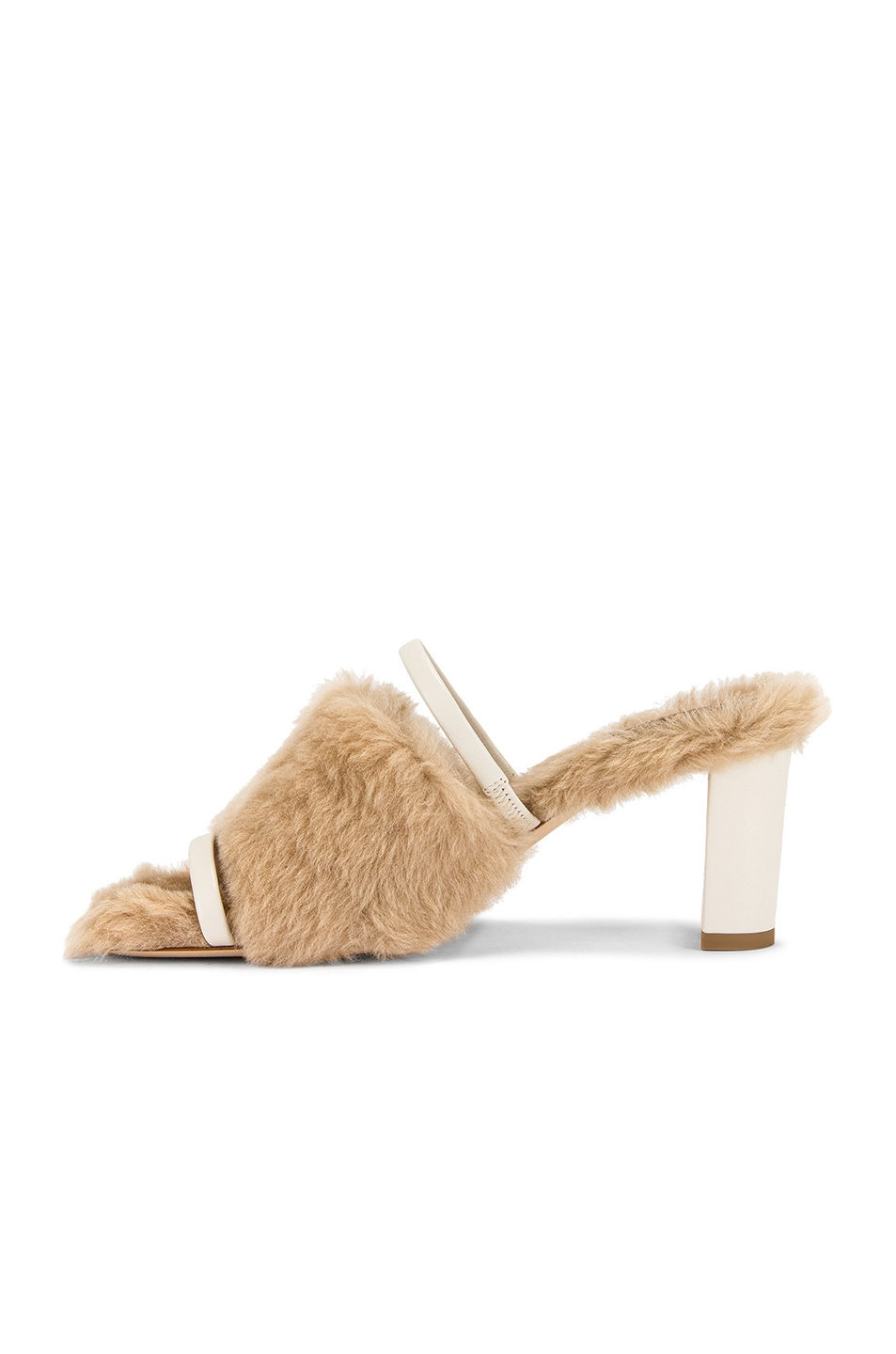 Image 5 of Malone Souliers Demi MS MT 70 Mule in Beige & Cream