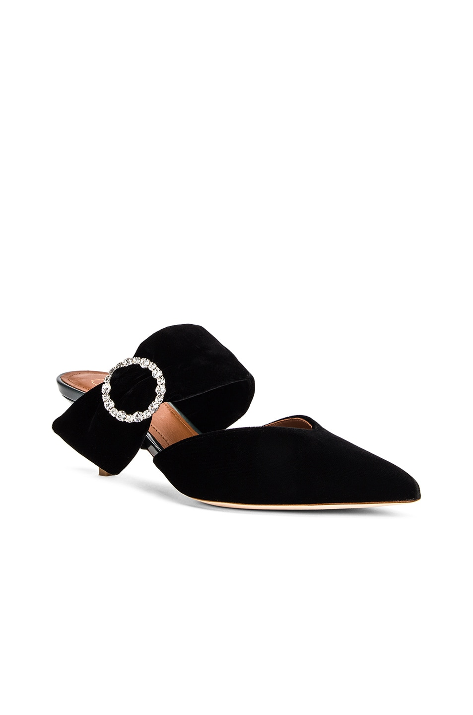 Image 2 of Malone Souliers Maite Crystal MS 45 Heel in Black