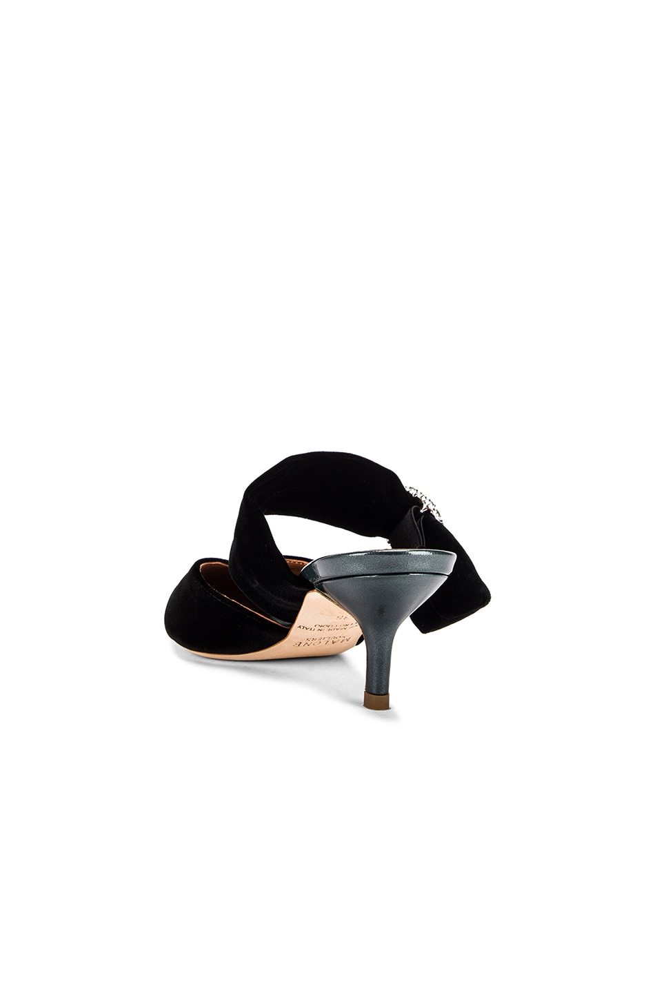 Image 3 of Malone Souliers Maite Crystal MS 45 Heel in Black