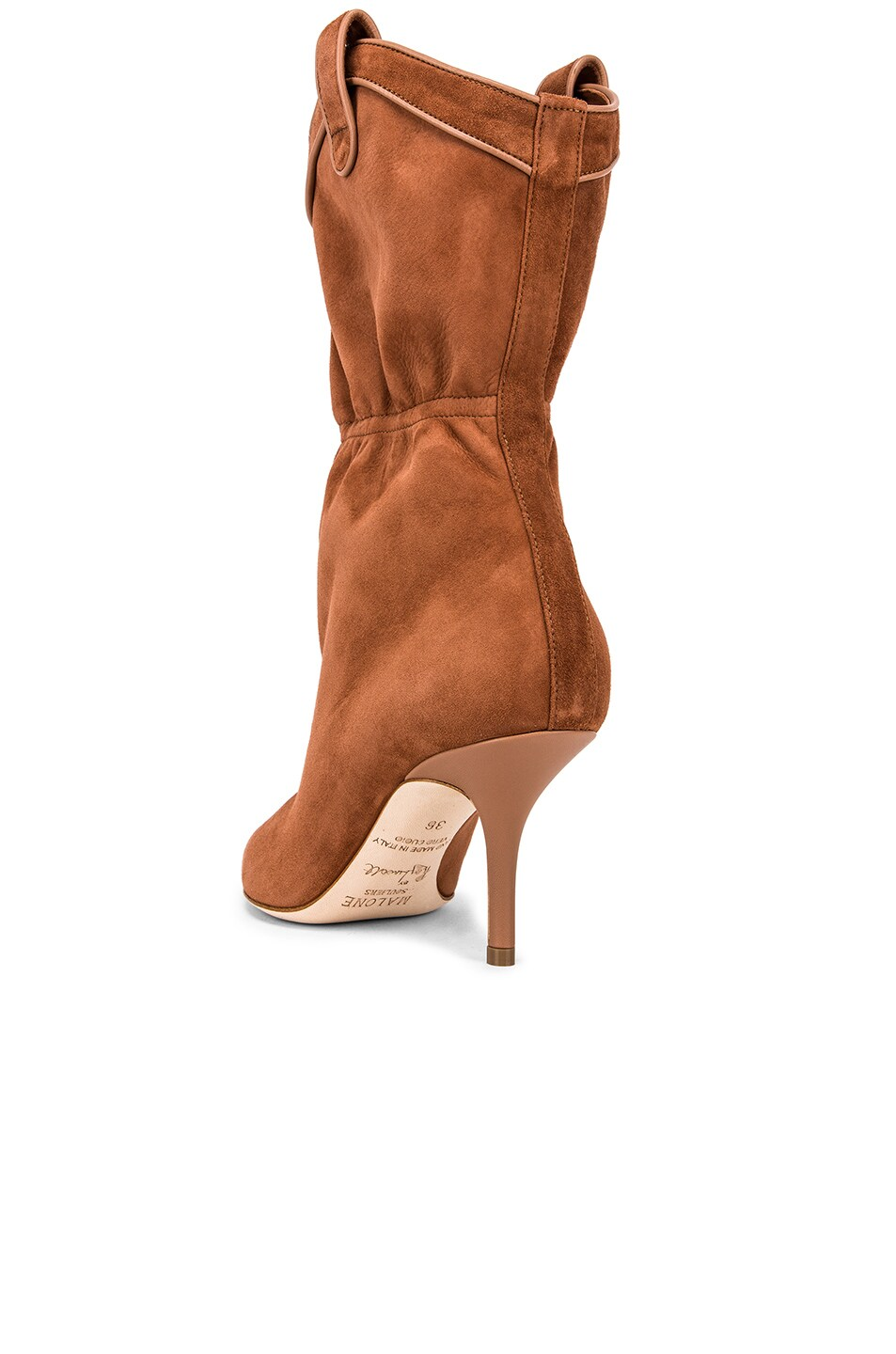 Image 3 of Malone Souliers Daisy Boot in Tan