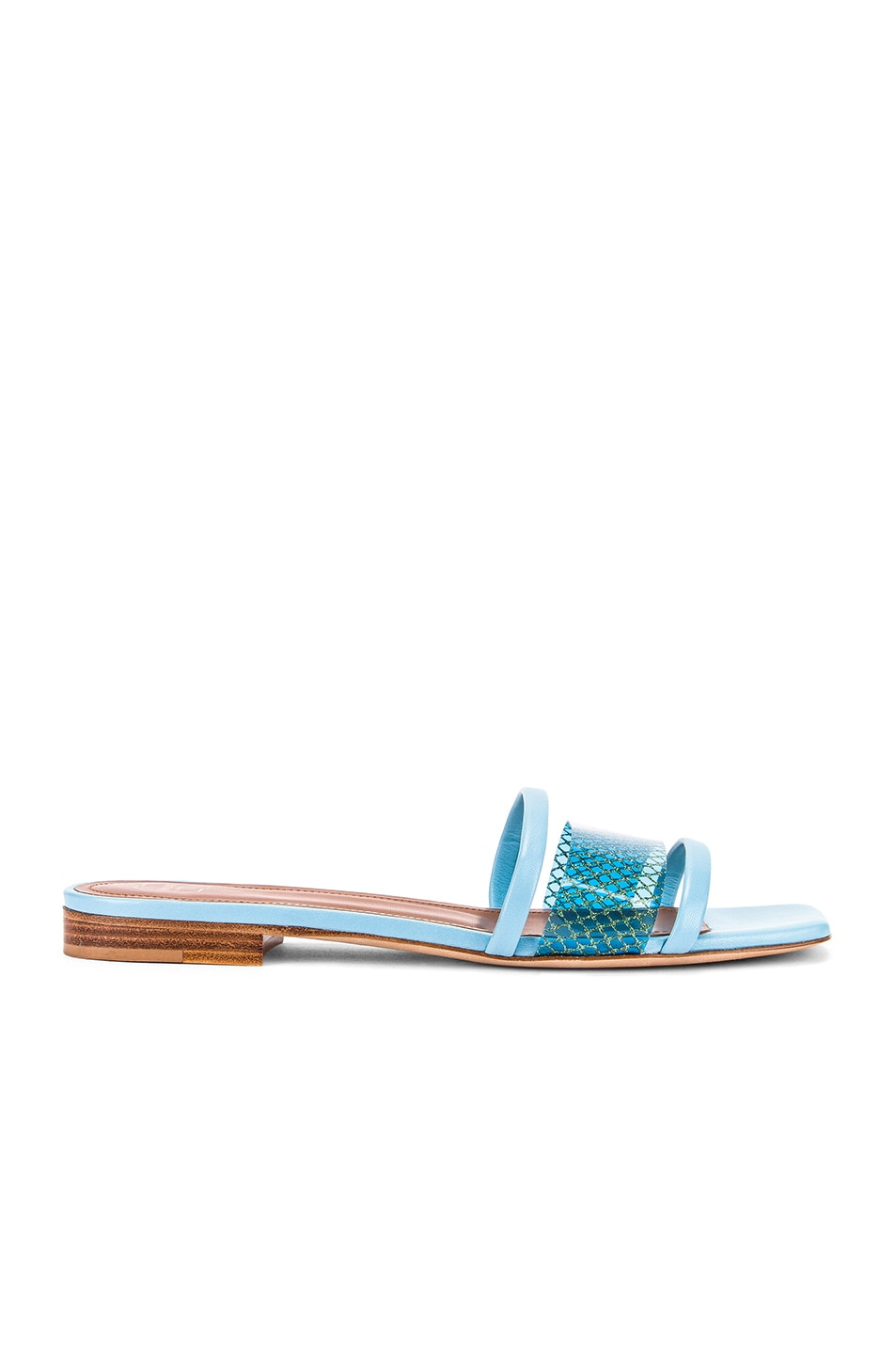 Image 1 of Malone Souliers Demi Flat in Sky Blue