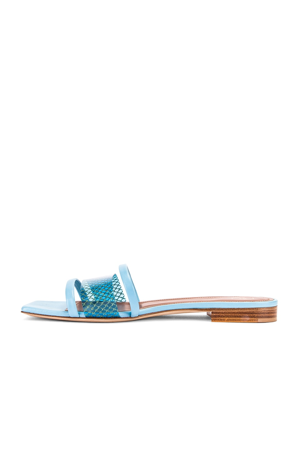 Image 5 of Malone Souliers Demi Flat in Sky Blue