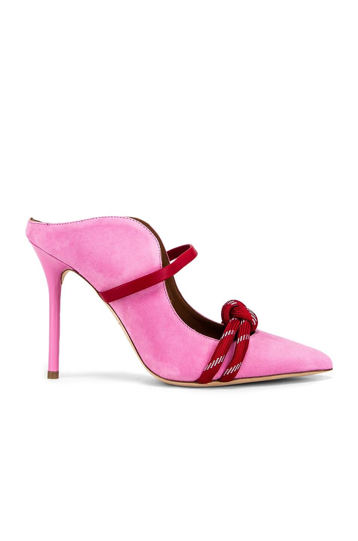 Image 1 of Malone Souliers Farrah Heel in Bubblegum & Red