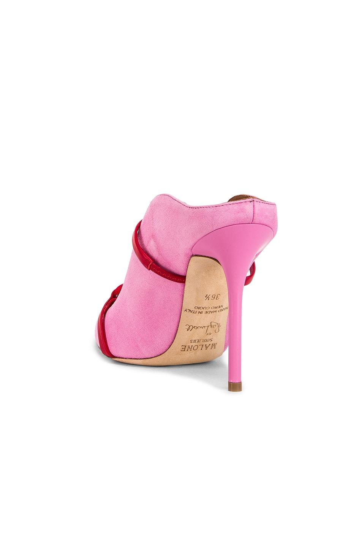 Image 3 of Malone Souliers Farrah Heel in Bubblegum & Red