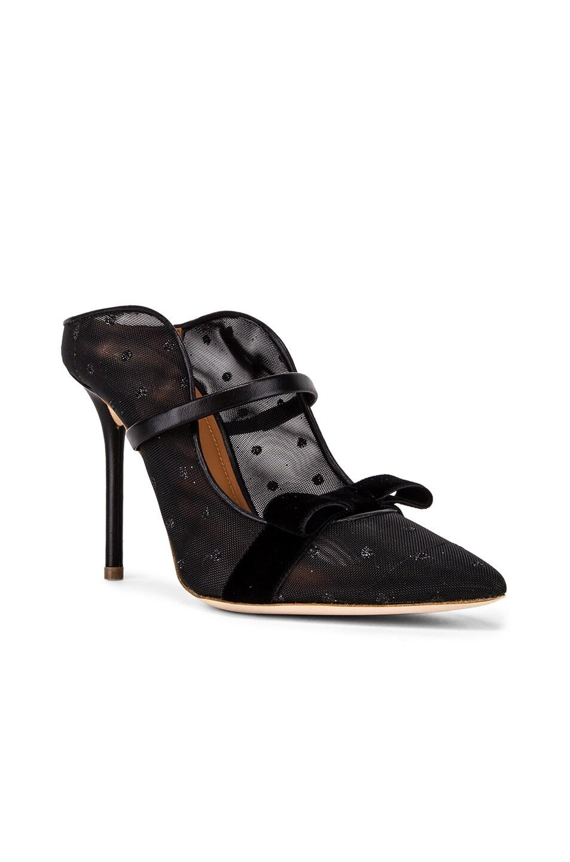 Image 2 of Malone Souliers Marguerite Heel in Black & Black