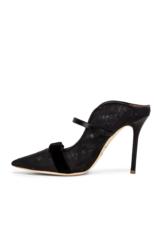 Image 5 of Malone Souliers Marguerite Heel in Black & Black