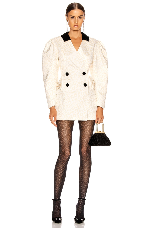 Image 1 of MARIANNA SENCHINA Jacket Dress in Milky