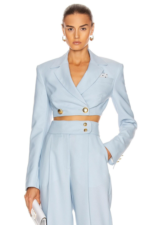 Image 1 of MARIANNA SENCHINA Brittany Jacket in Sky Blue