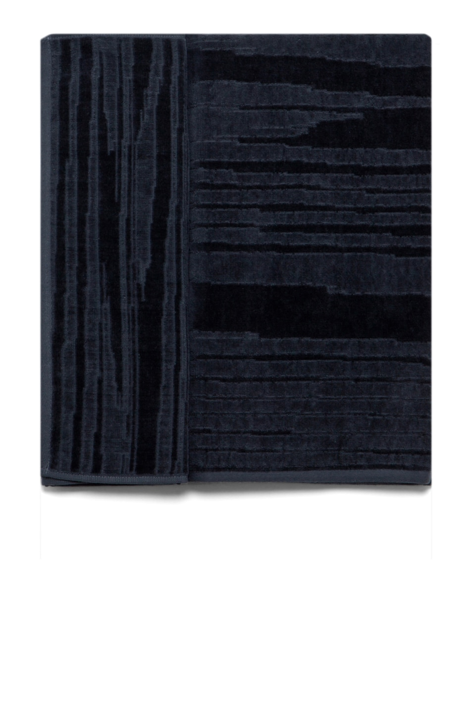 Image 1 of Missoni Home Kian 2 Piece Towel Set in Charcoal