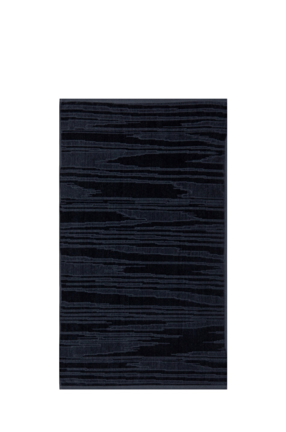 Image 3 of Missoni Home Kian 2 Piece Towel Set in Charcoal