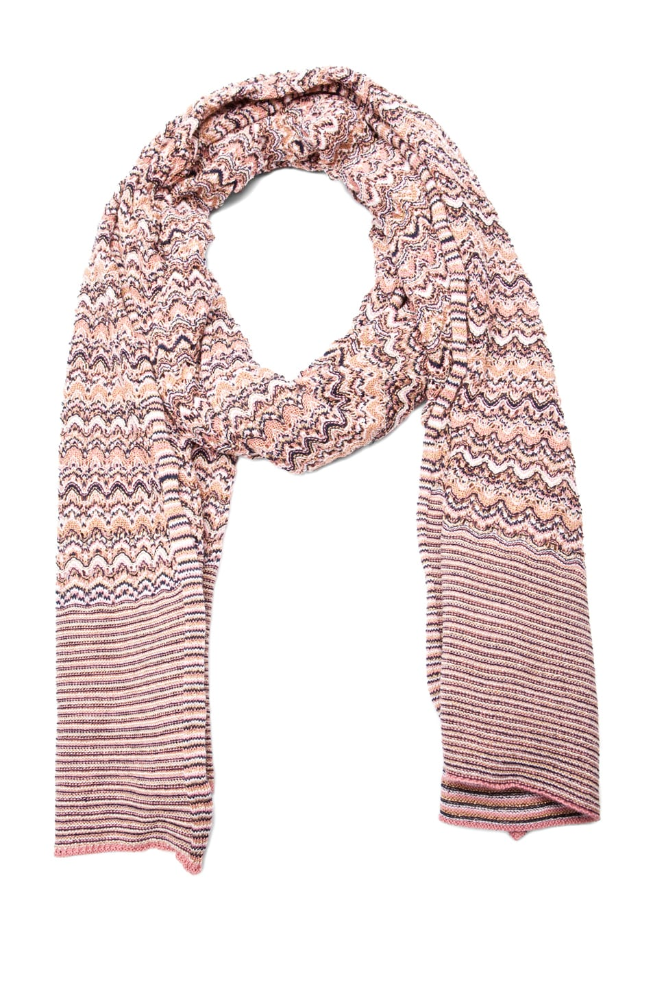 Image 1 of Missoni Scarf in Nude
