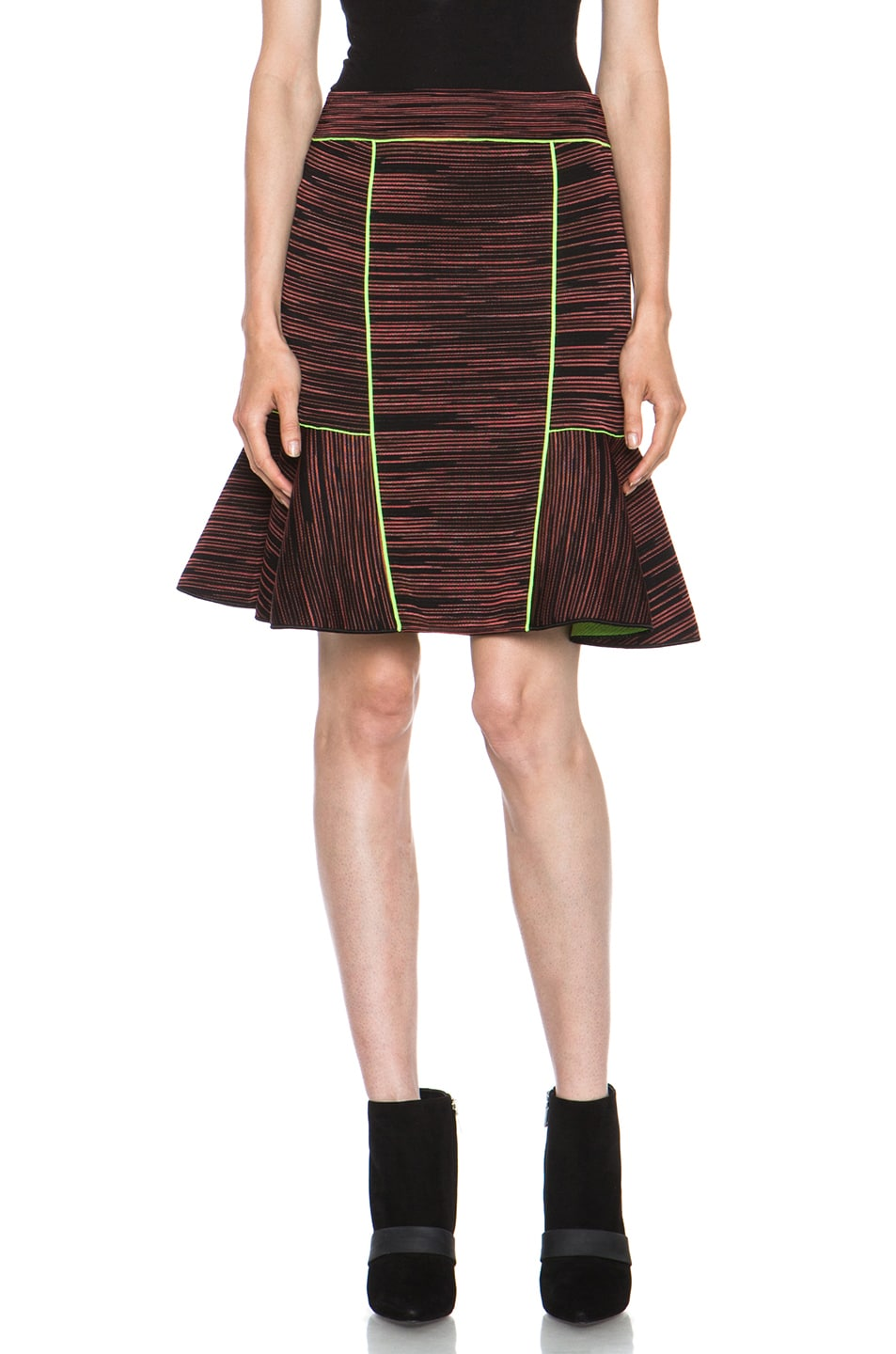 Image 1 of M Missoni Neoprene Skirt in Russet
