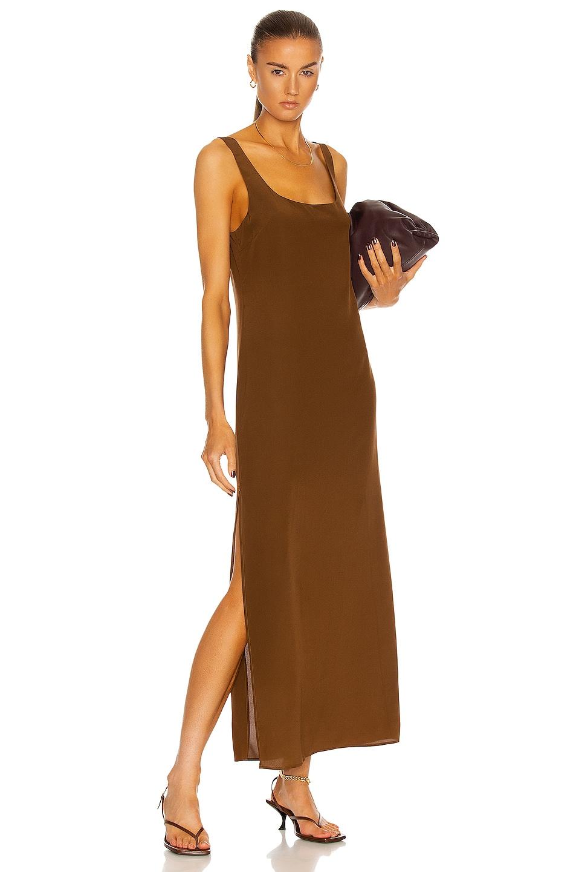Image 1 of Matteau Tank Slip Dress in Pecan