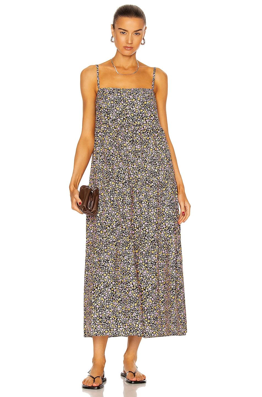 Image 1 of Matteau Tiered Sun Dress in Wild Primrose