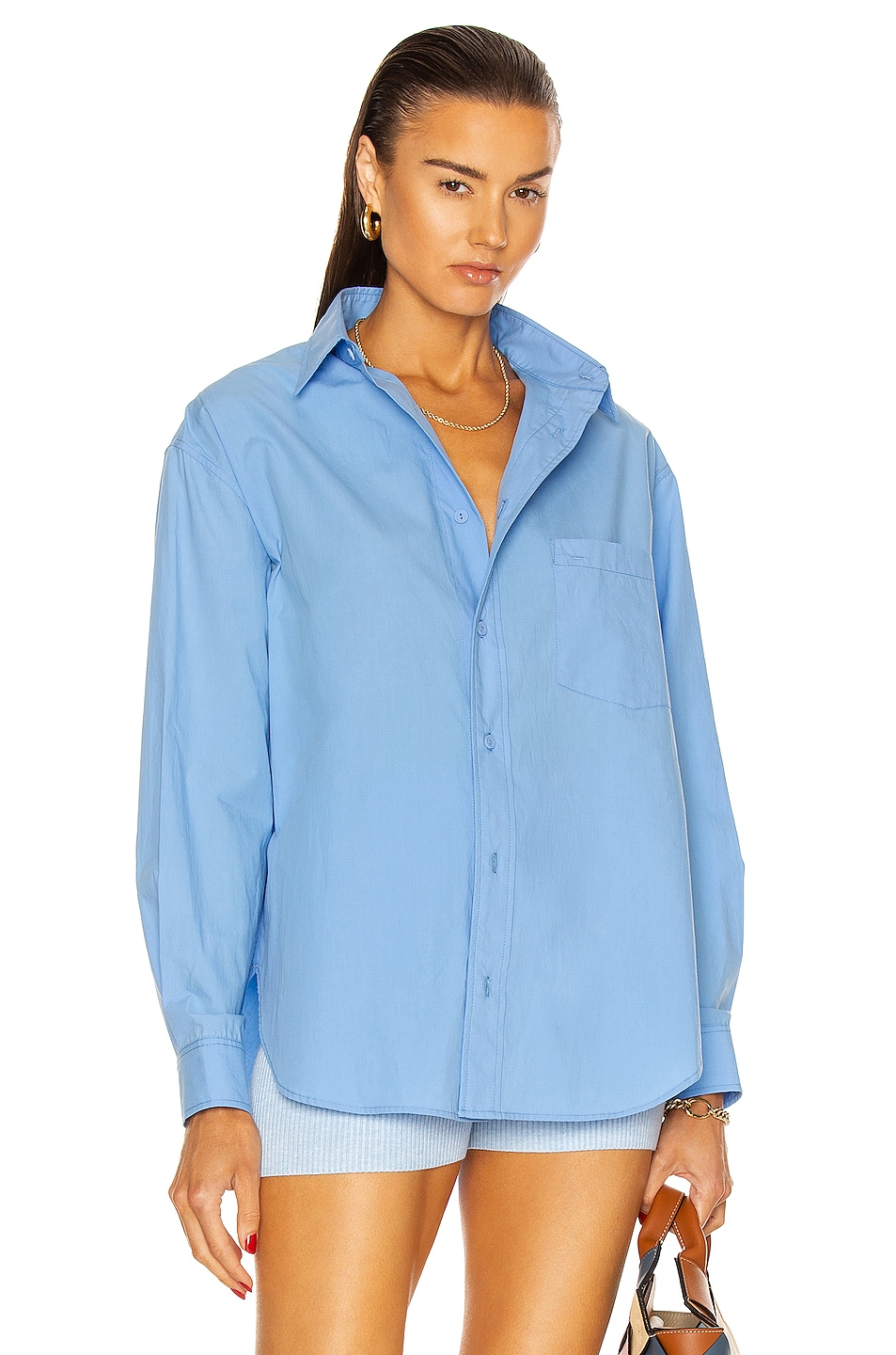 Image 1 of Matteau Relaxed Shirt in Cornflower