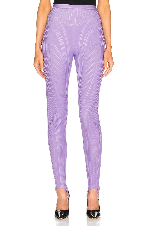 Image 1 of Mugler Sport Pant in Lilac