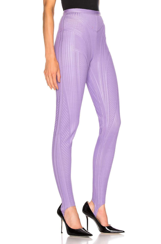 Image 2 of Mugler Sport Pant in Lilac