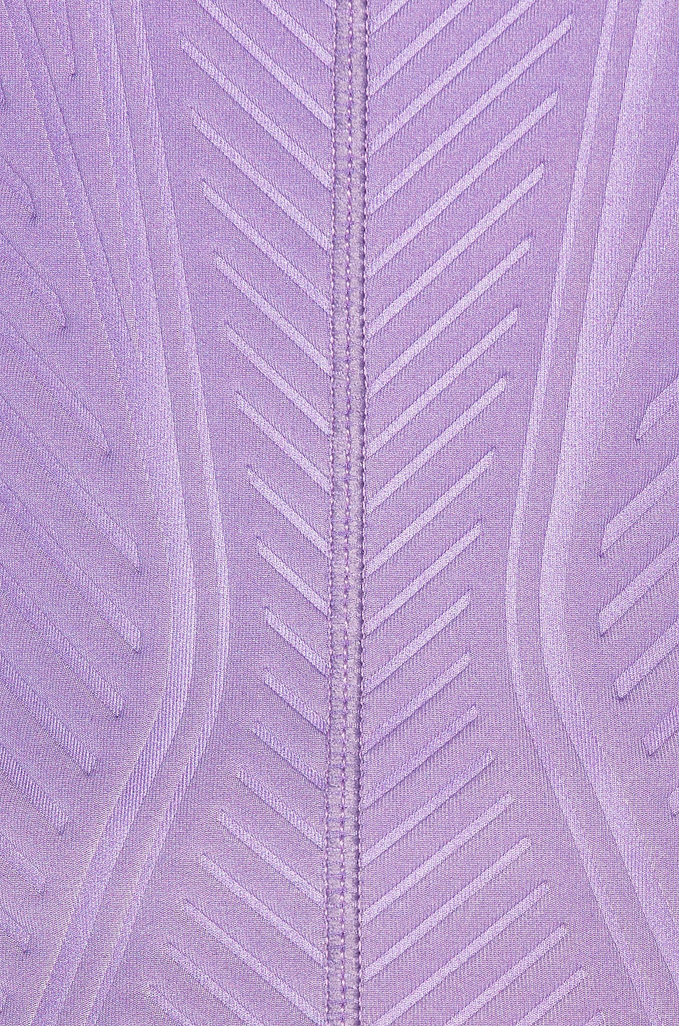 Image 5 of Mugler Long Sleeve Sport Top in Lilac