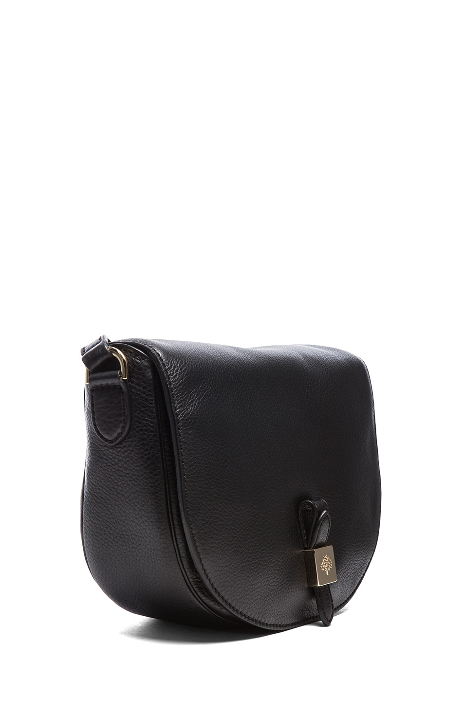 Image 3 of Mulberry Tessie Satchel in Black