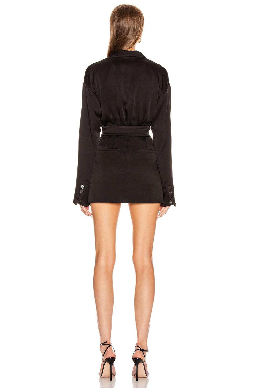 Image 3 of Marissa Webb Cyrus Suit Dress in Black