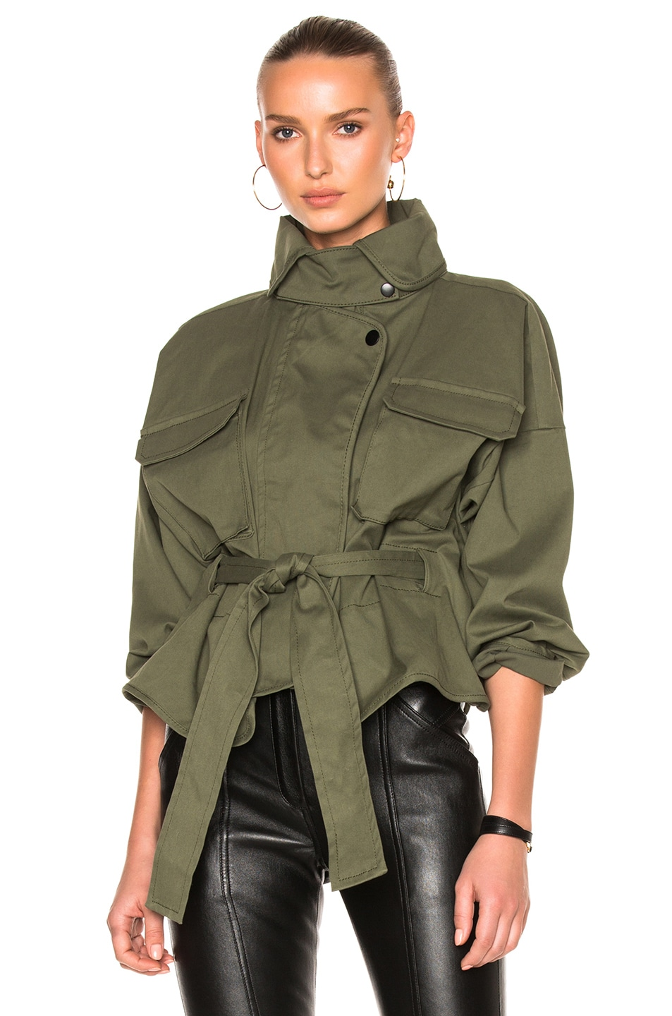 Image 1 of Marissa Webb Kayla Anorak in Military Green