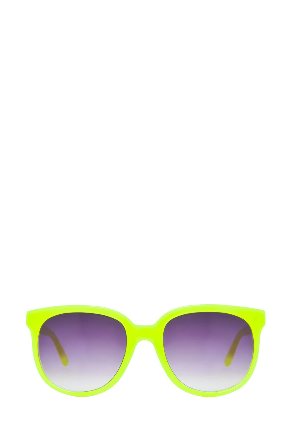 Image 1 of Matthew Williamson Sunglasses in Neon Yellow