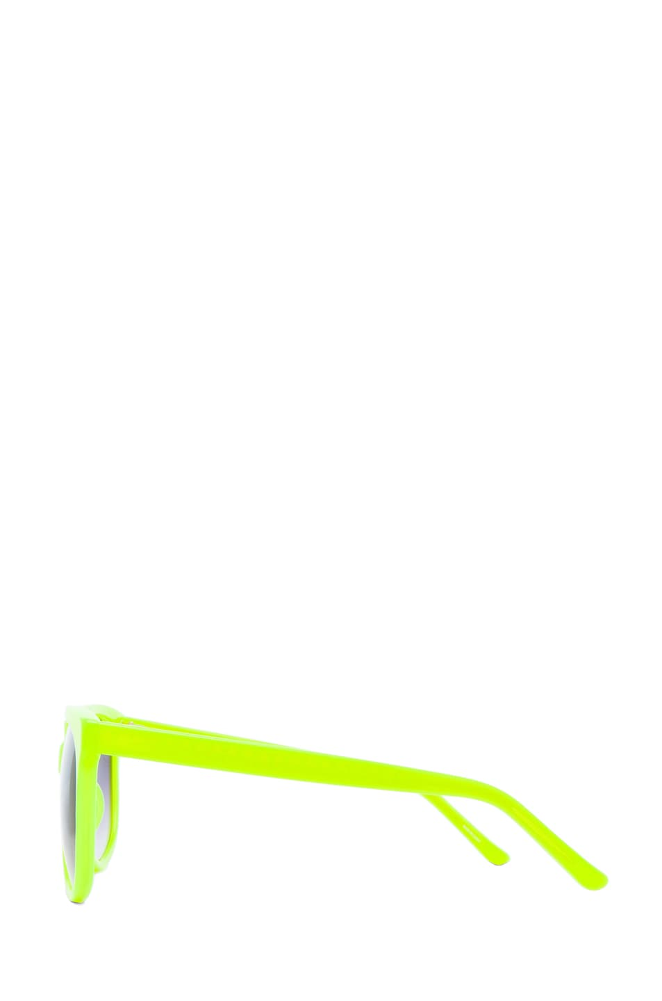 Image 3 of Matthew Williamson Sunglasses in Neon Yellow