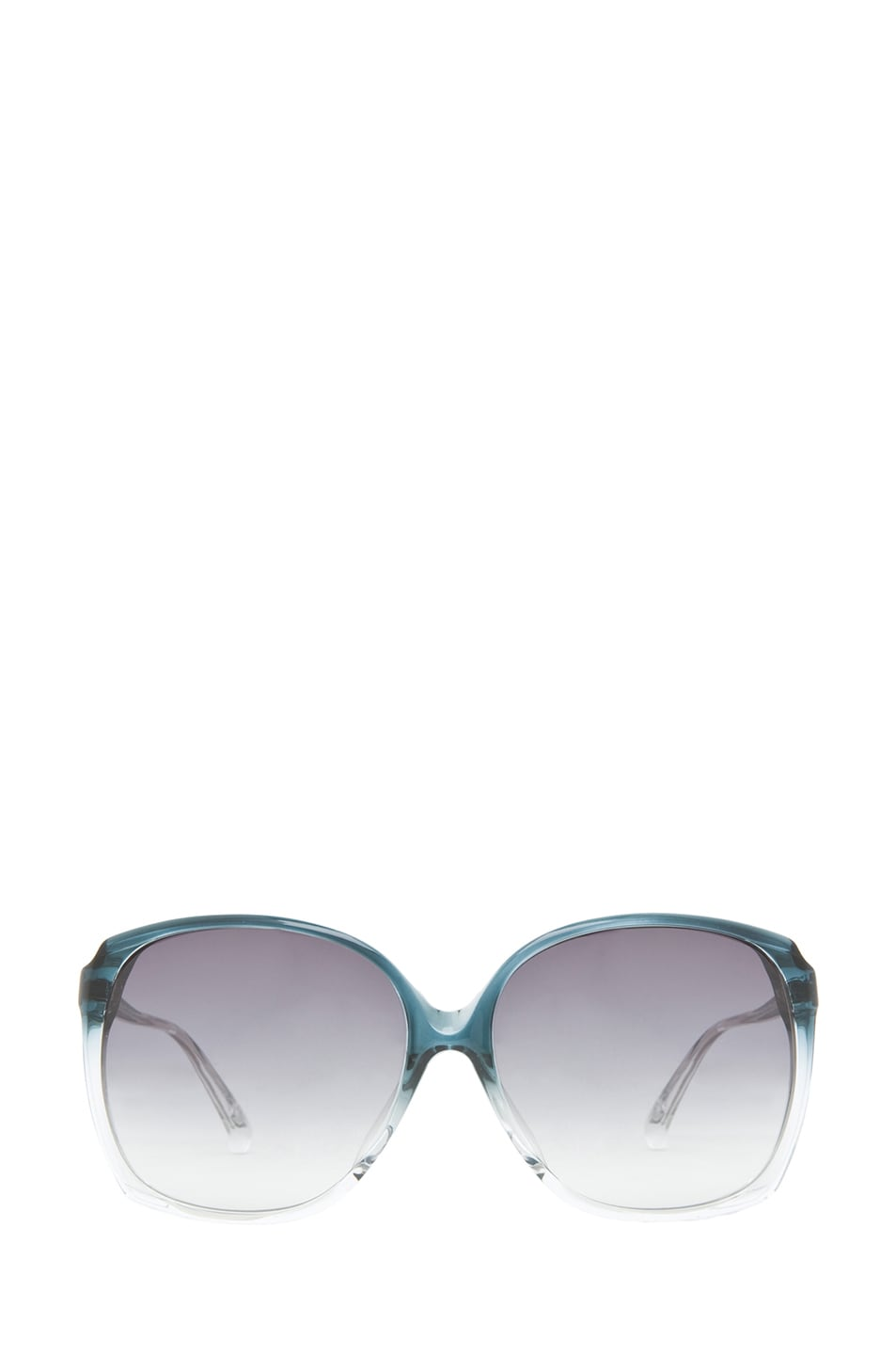 Image 1 of Matthew Williamson Acetate Sunglasses in Ocean Gradient