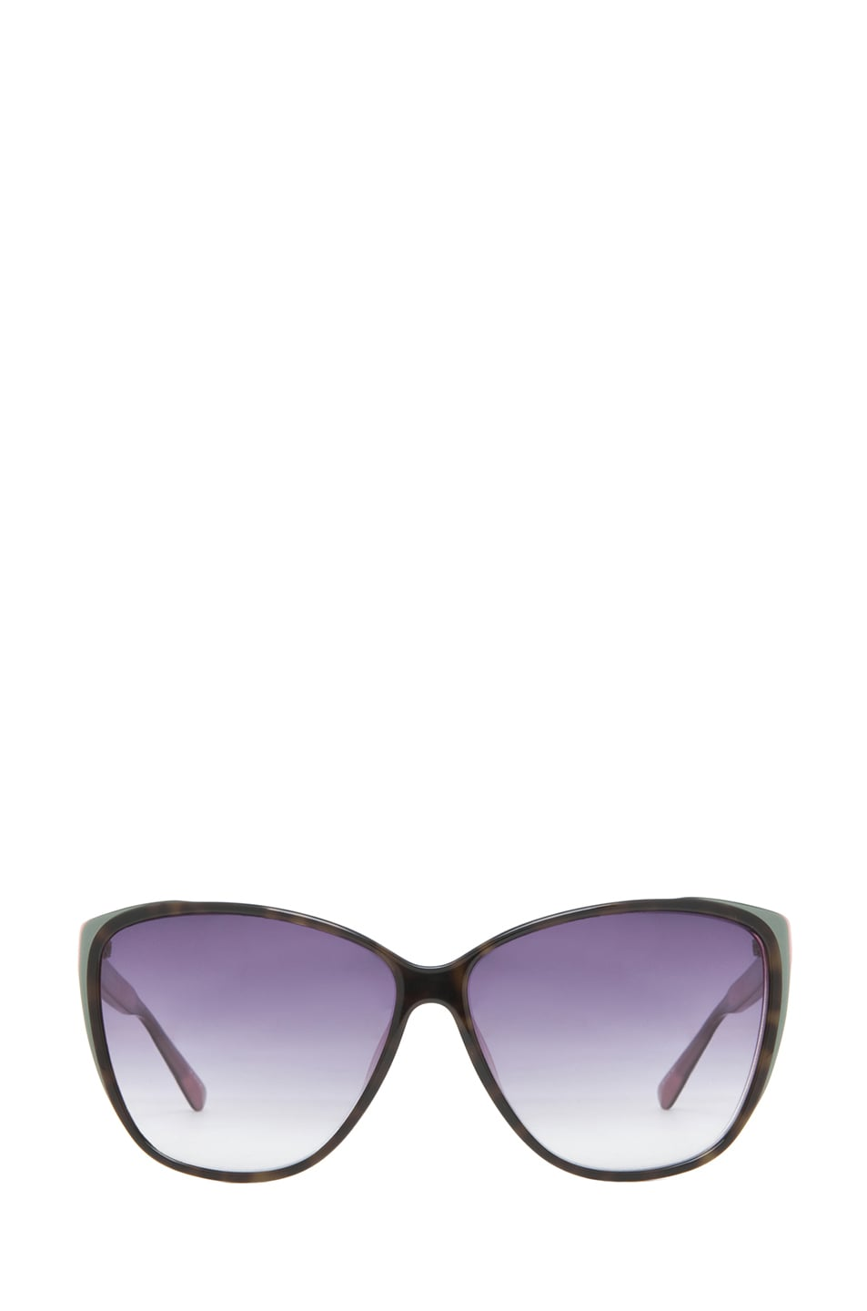 Image 1 of Matthew Williamson Caty Ee Sunglasses in Dusky Purple T Shell
