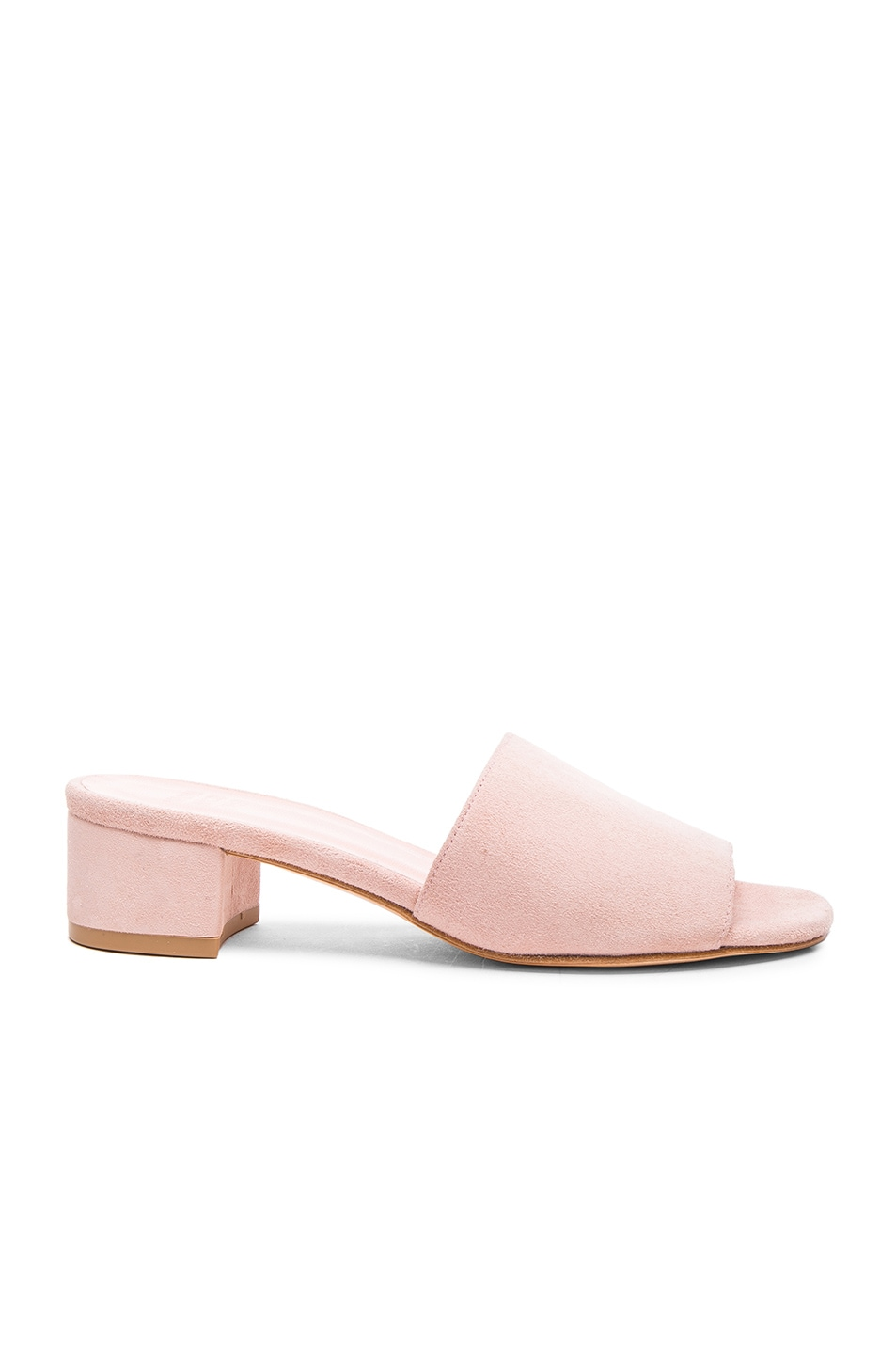 Maryam Nassir Zadeh Crossover Suede Slide Sandals get to buy online M4cI4N