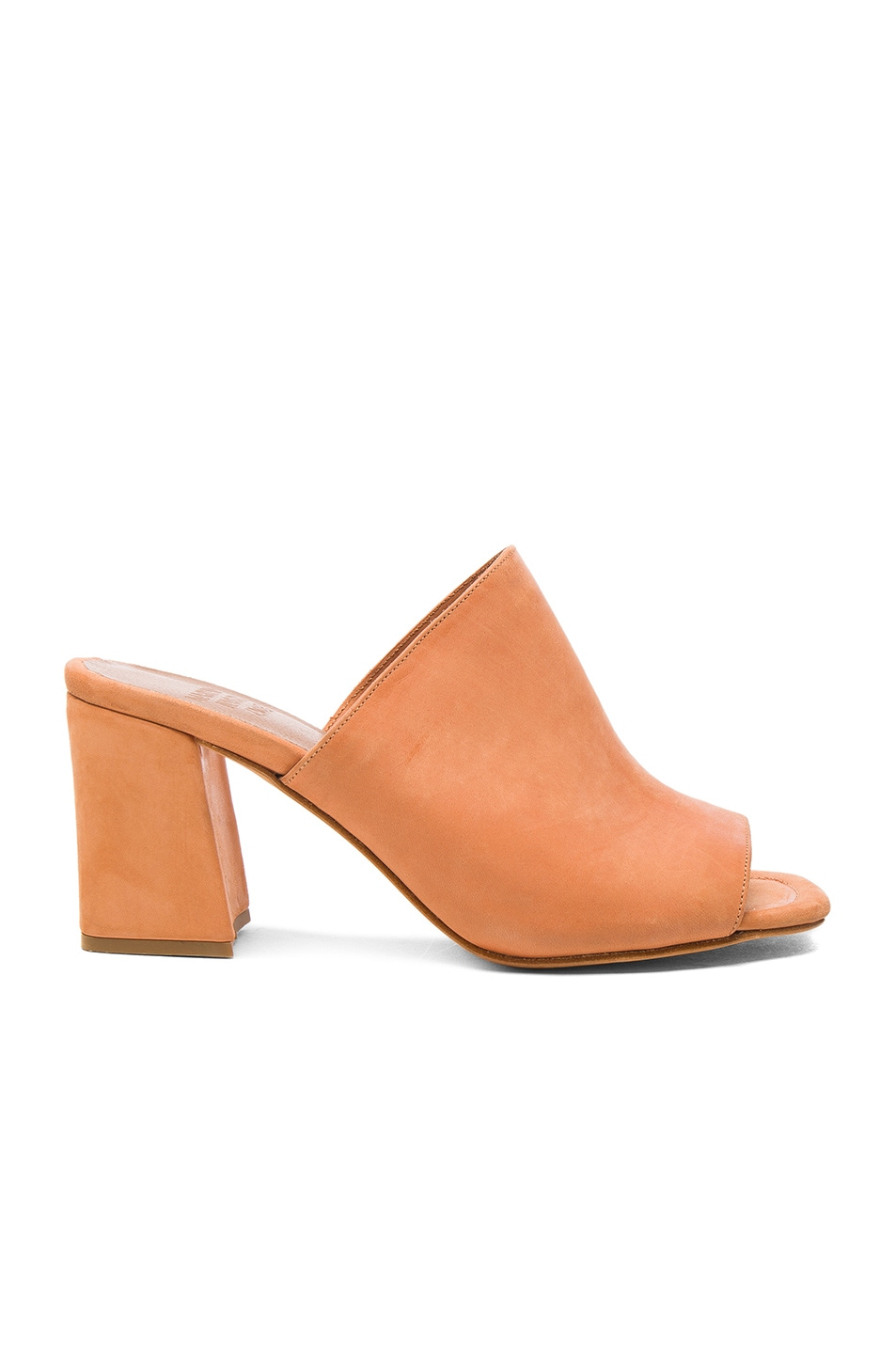 Image 1 of Maryam Nassir Zadeh Leather Penelope Mules in Natural Calf