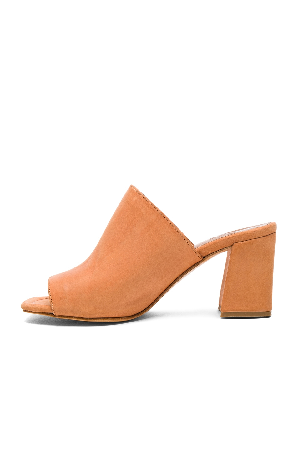 Image 5 of Maryam Nassir Zadeh Leather Penelope Mules in Natural Calf