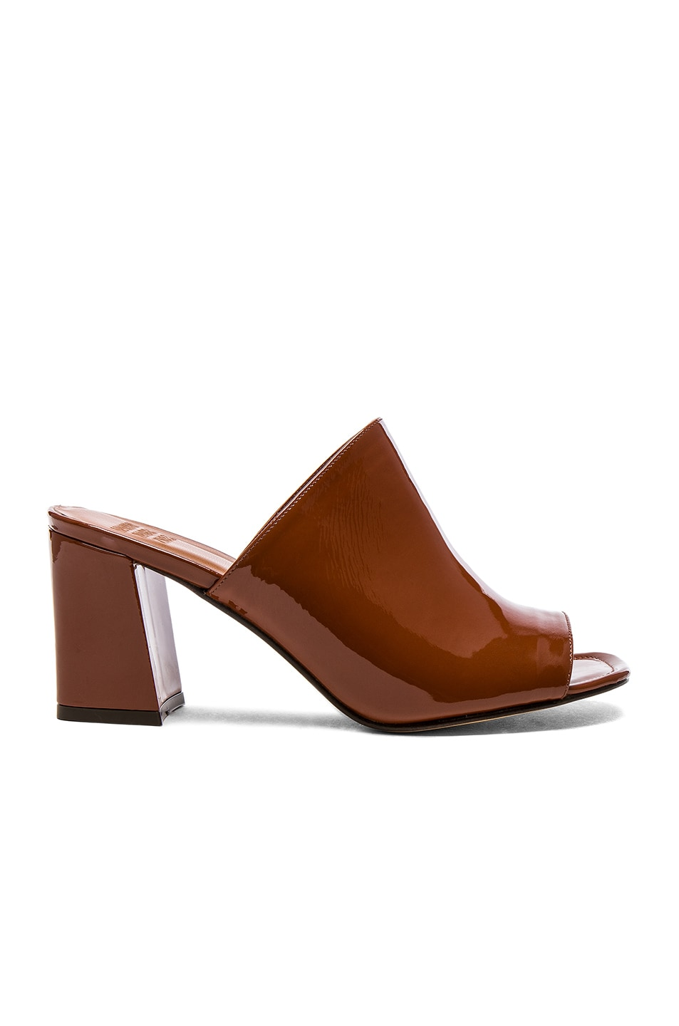 Image 1 of Maryam Nassir Zadeh for FWRD Penelope Mule in Caramel Sparkle