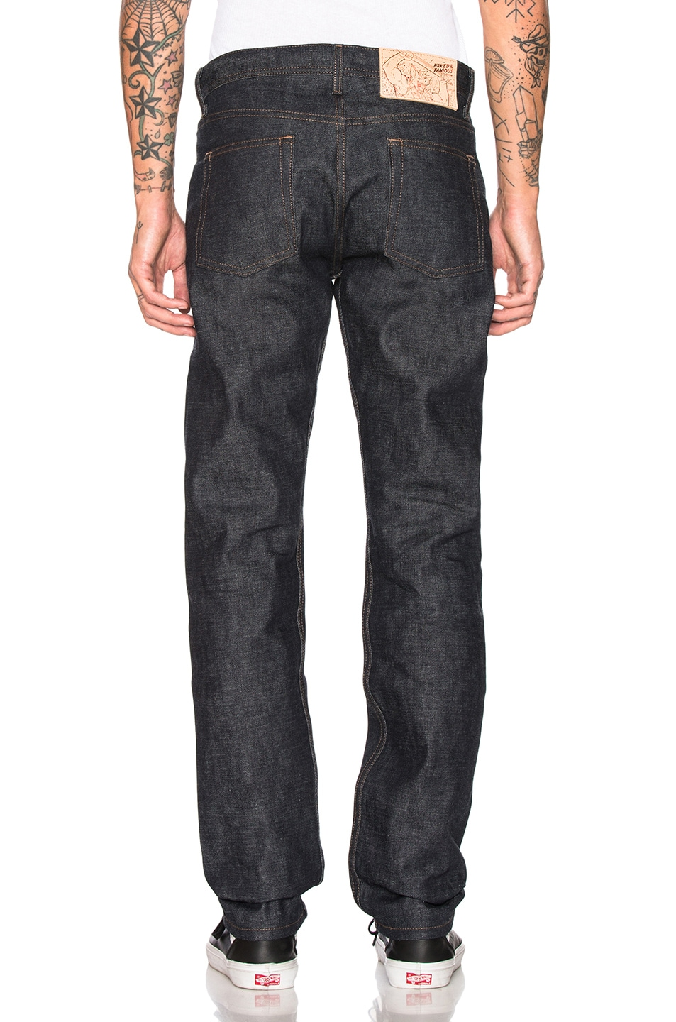 Naked & Famous Denim Weird Guy Jeans Chinese New Year Earth Pig chic